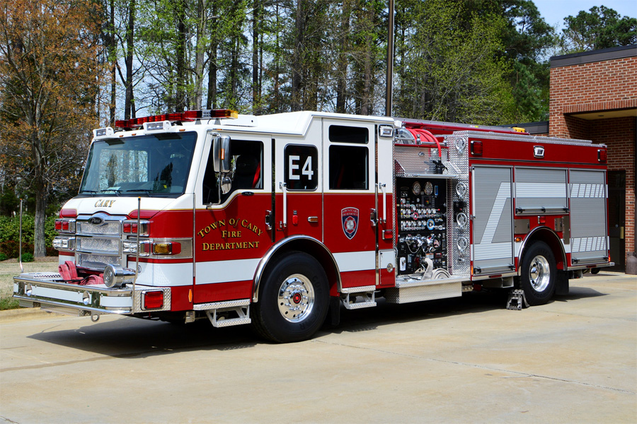 Cary Fire Department - Newer Fire Apparatus