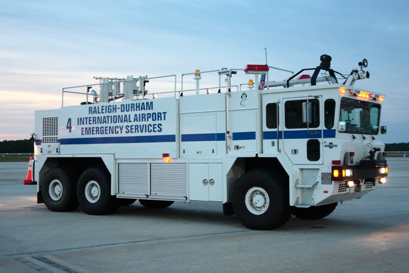 Raleigh Durham Airport Fire Rescue Fire Apparatus
