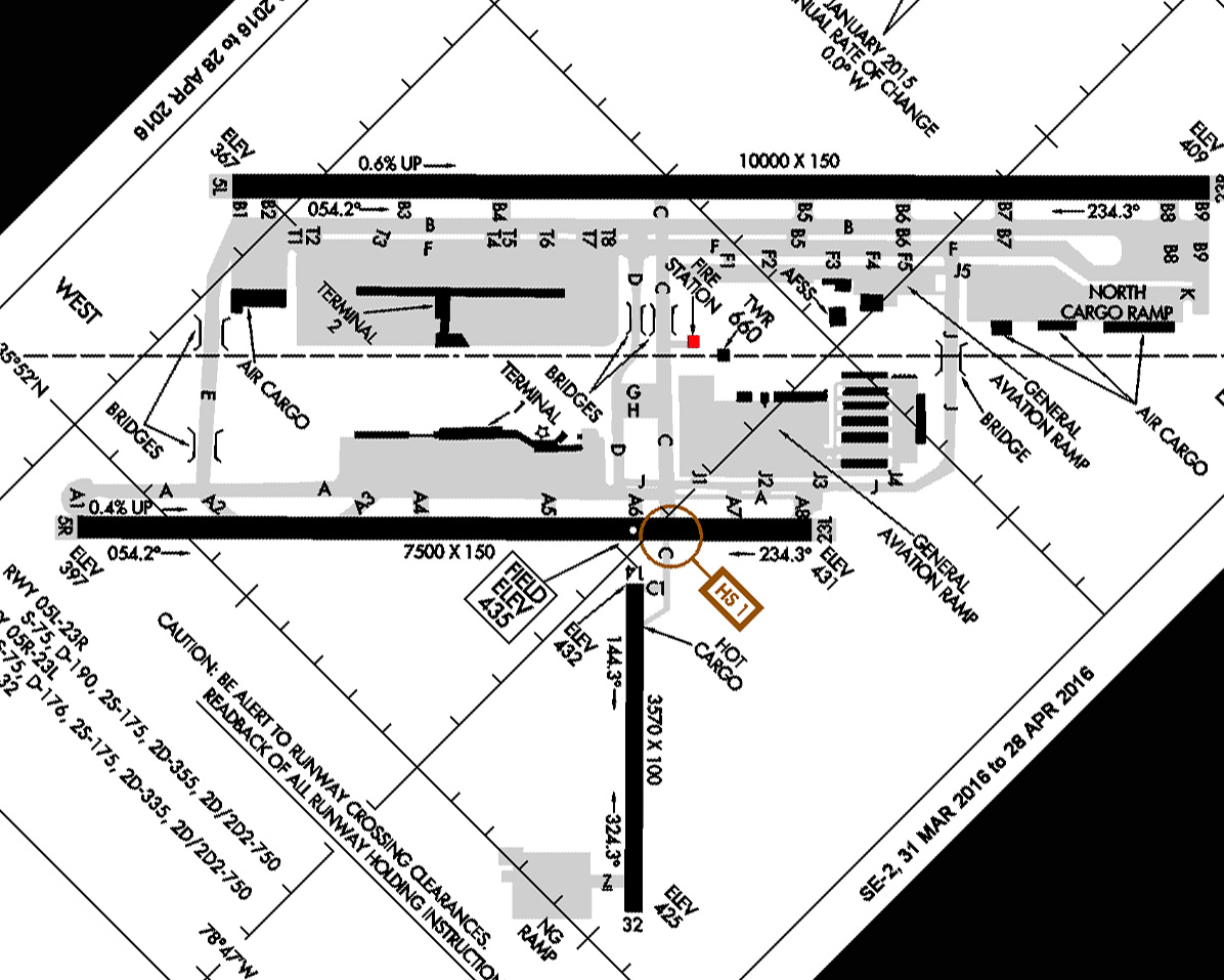 Raleigh Durham Airport Fire Rescue Maps & Diagrams