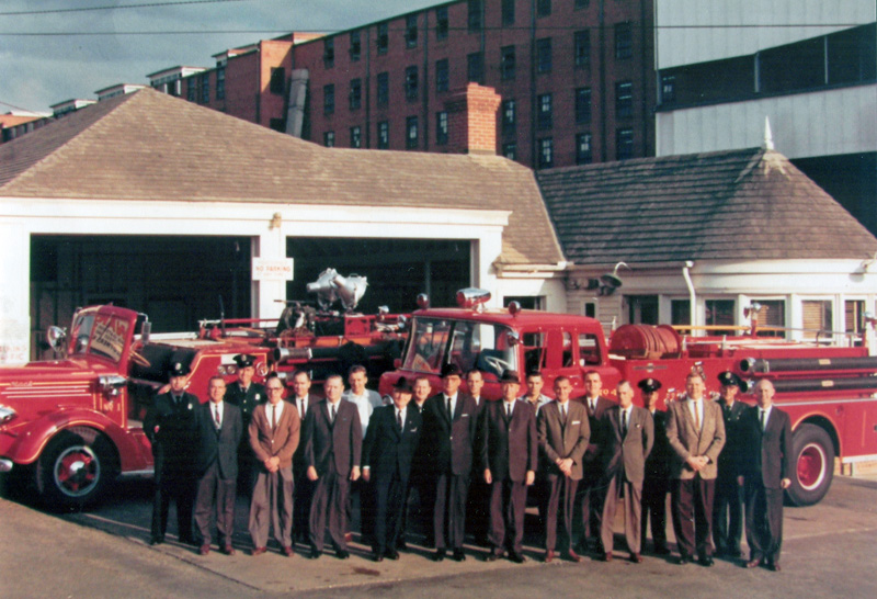 Kannapolis Fire Department History by Mike Legeros