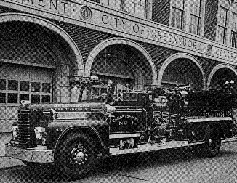 Description of New Greensboro Engine, 1955 - Legeros Fire Blog ...