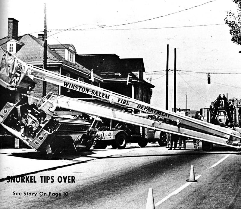 Winston Salem Credit Union >> Winston-Salem Snorkel Tips Over, 1969 - Legeros Fire Blog ...