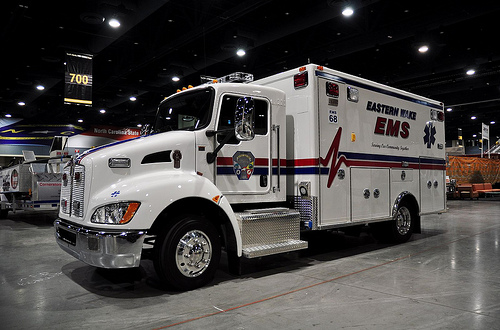 Eastern Wake's New Freightliner Kenworth Ambulance ...