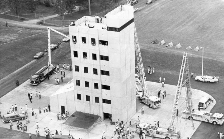 Charlotte Fire Department Training Tower And Apparatus