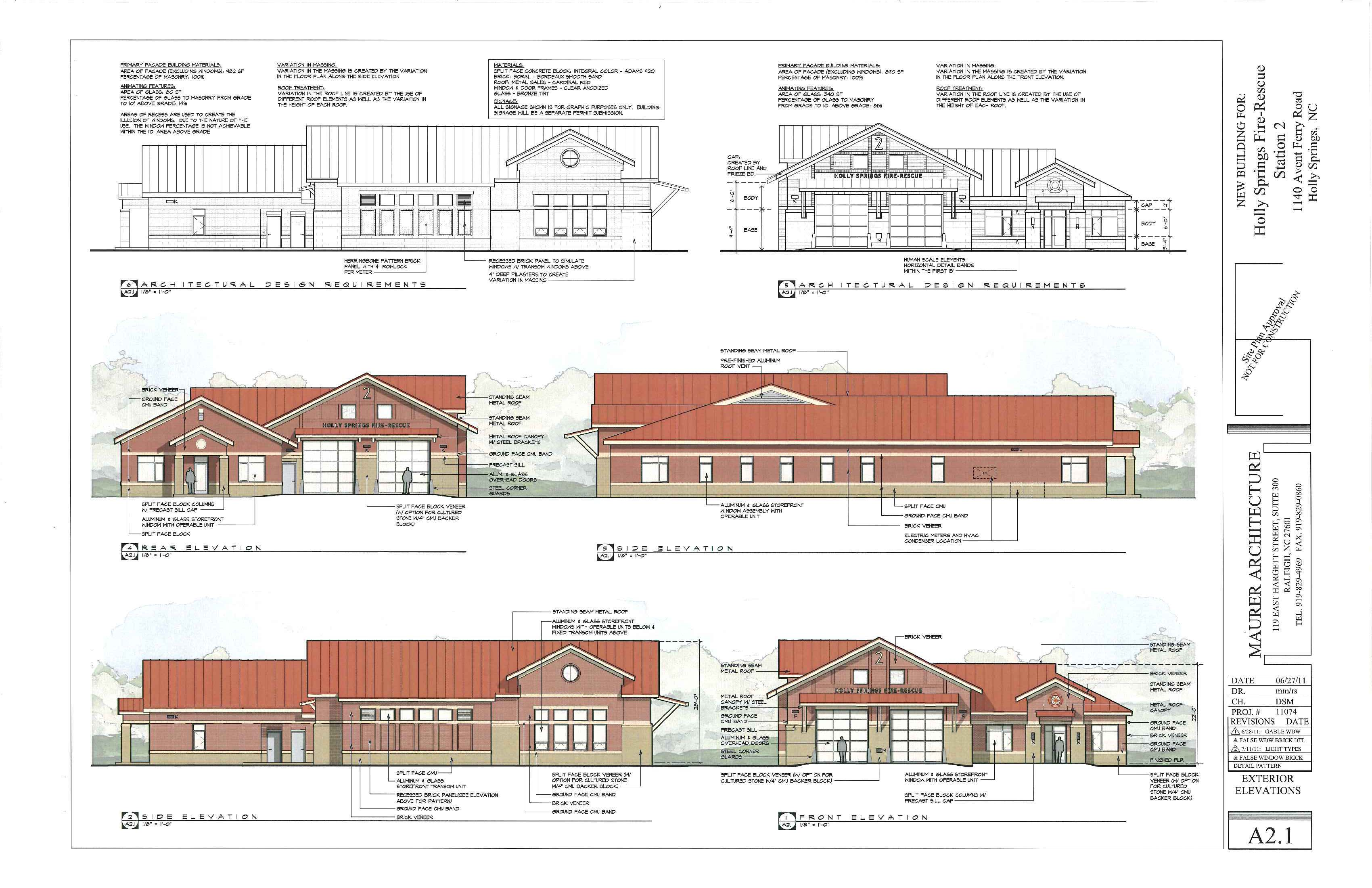 Image gallery elevation drawings House plan and elevation drawings