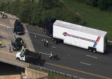 Durham Police Officer Injured in I-85 Crash - Legeros Fire