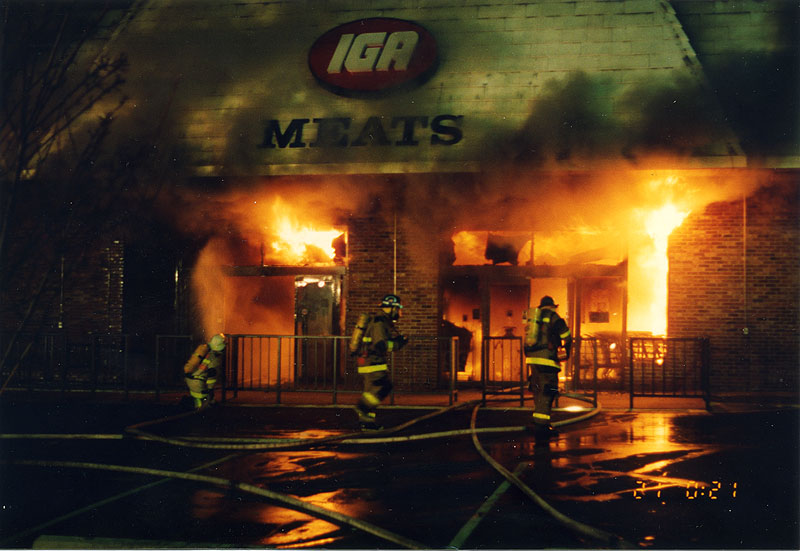Update 2 Iga Grocery Store Fire December 20 1992