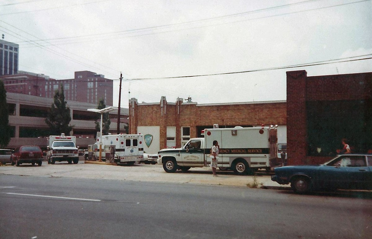 fire blog wait you say what s that old building in the first photo the one that looks like an ancient gas station ambulances parked outside