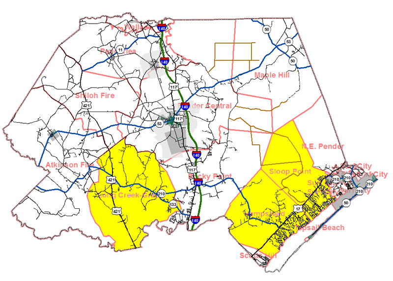 Pender County Nc Map.Fire Department Developments In Pender County 2013 Legeros Fire Blog