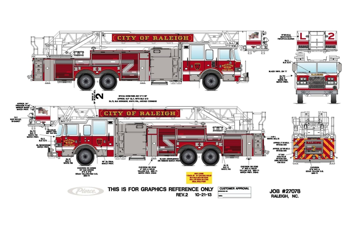 updated drawings of raleigh s new apparatus legeros fire blog rh legeros com Fire Engine Controls Fire Engine Controls