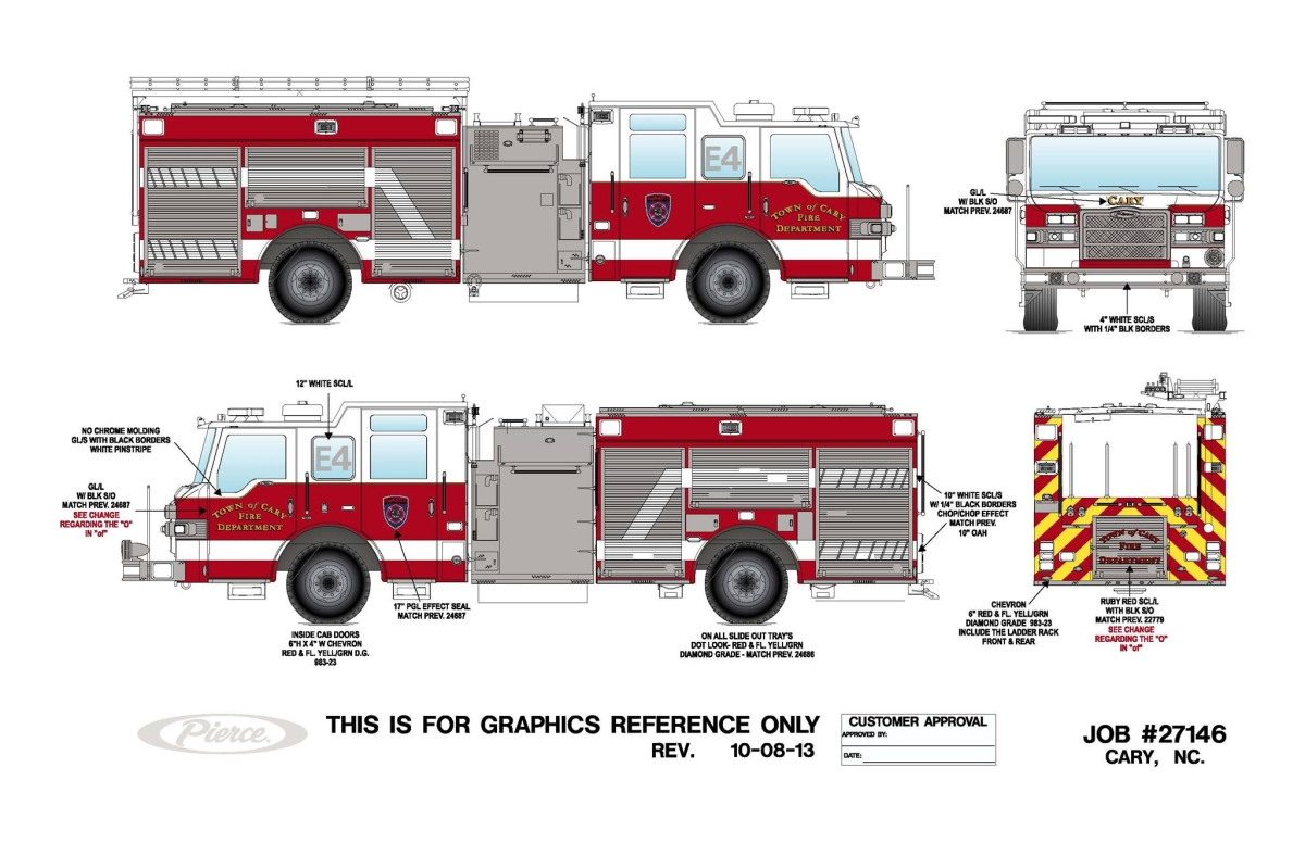 Updated Drawing Of Cary S New Rescue And Engine Legeros