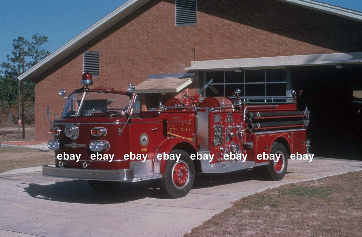 Vintage Wilmington Engine and Rescue - Legeros Fire Blog Archives