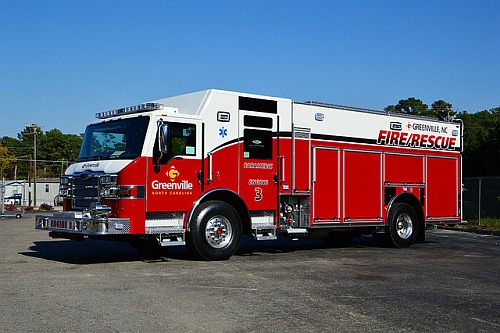 Greenville S New Rescue Pumper And More Legeros Fire