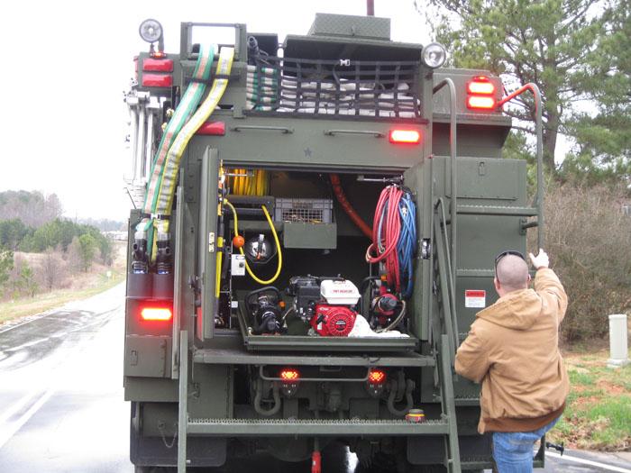 Tactical Fire Fighting Truck Up Close Legeros Fire Blog