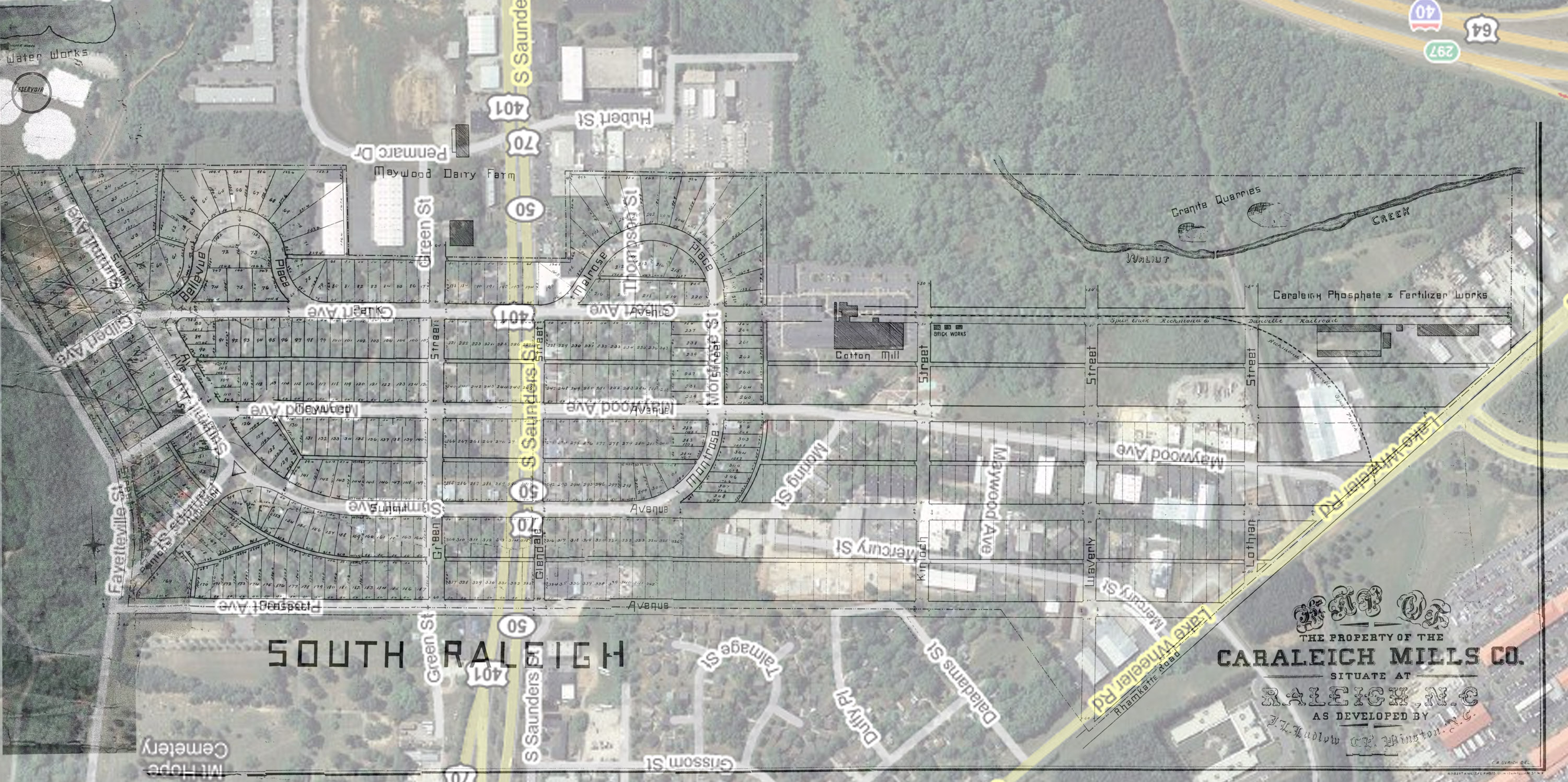 Old Map of Caraleigh - Legeros Fire Blog Archives 2006-2015