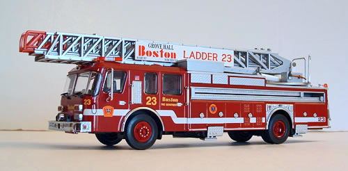 Seagrave Fire Apparatus >> Die-Cast Fire and Emergency Vehicles - Aerial Ladders
