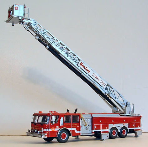 Die-Cast Fire and Emergency Vehicles - Aerial Towers ...