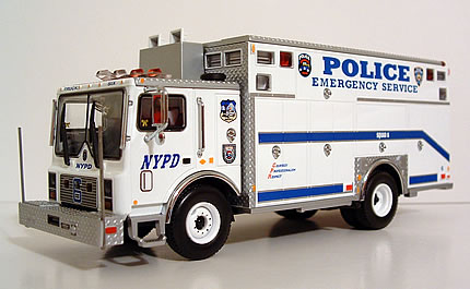 Die Cast Fire And Emergency Vehicles Police