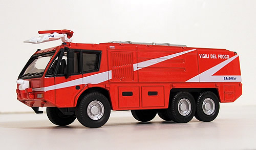 Die-Cast Fire and Emergency Vehicles - Airport Crash Trucks