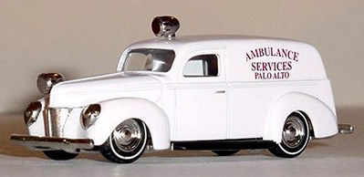 Die-Cast Fire and Emergency Vehicles - Rescue