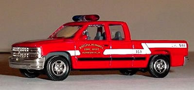 Die-Cast Fire and Emergency Vehicles - Utility